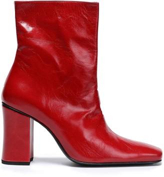 Dorateymur Sybil Leather Ankle Boots