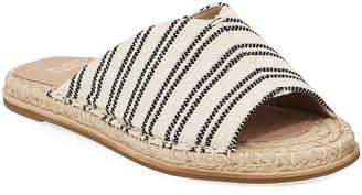 Eileen Fisher Milly Striped Canvas Espadrille Sandals