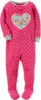 Carter's Long Sleeve One Piece Pajama-Baby Girls