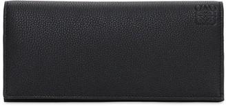 Loewe Logo Leather Long Horizontal Wallet
