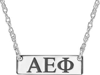 FINE JEWELRY Personalized Greek Letters 20mm Initial Necklace