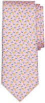 Brooks Brothers Lemon Print Classic Tie