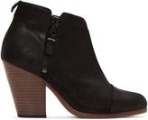 Rag & Bone Black Suede Classic Margot Boots