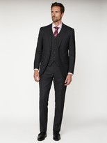 Jeff Banks Soho Suit Trousers - Charcoal