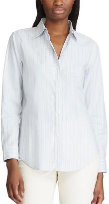 Chaps Women's Striped Shirt
