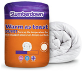 Slumberdown Warm as Toast 13.5 Tog Duvet - King