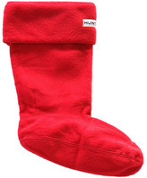 Hunter Red Fleece Welly Socks Red