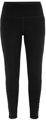 Tribal Pull-On Leggings with Studs (Black) Women's Casual Pants