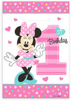 Disney Minnie Mouse 1st Birthday Favor Bags