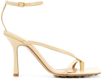 Bottega Veneta Stretch ankle-strap sandals