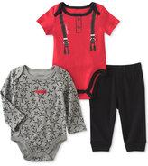 Calvin Klein 3-Pc. Bodysuits & Pants Set, Baby Boys (0-24 months)