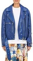Acne Studios Women's Lotta Leather Moto Jacket