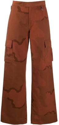 Marine Serre Camouflage-Print Trousers