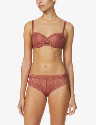 Chantelle Day to Night stretch-lace bra