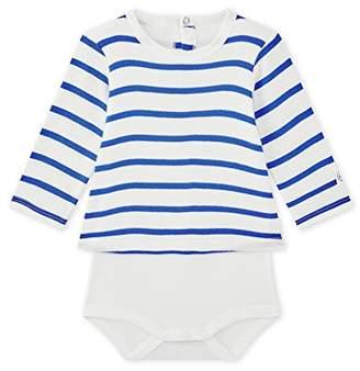 Petit Bateau Baby Body TEE Shirt ML 28909 Bodysuit