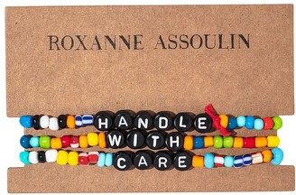 Roxanne Assoulin Handle With Care camp bracelets