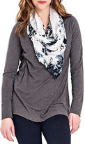 Lysse V Neck Top With Stretch Lining