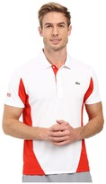 Lacoste T1 Short Sleeve Ultra Dry Color Block
