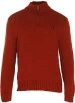 Polo Ralph Lauren Men's Half Zip Cotton Sweater