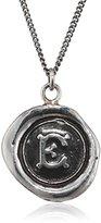 Pyrrha Unisex 925 Sterling Silver Initial E Talisman Necklace