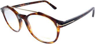 Tom Ford Eyeglass Frames - Gold & Brown Tortoise Shell Aviator Eyeglasses