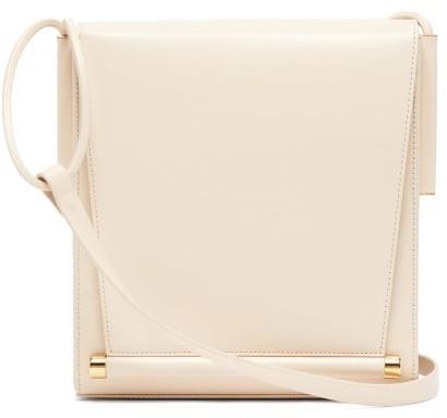 Roksanda Box Medium Leather Shoulder Bag - Ivory