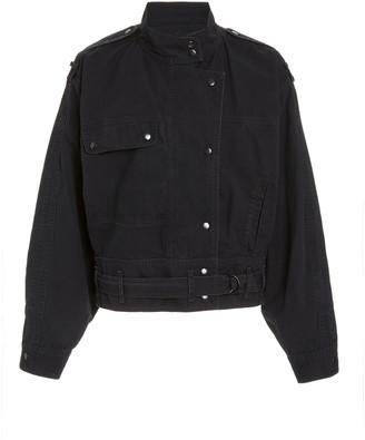 Etoile Isabel Marant Zonca Belted Denim Jacket
