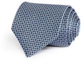 Salvatore Ferragamo Gancini Chain Link Print Classic Tie