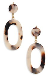 Madewell Oval Statement Earrings