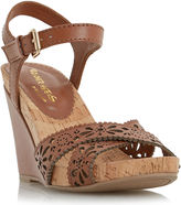 HEAD OVER HEELS BY DUNE LONDON Head Over Heels by Dune Kamilla Laser Cut Wedges