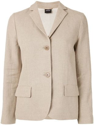 Aspesi Notched Lapel Blazer