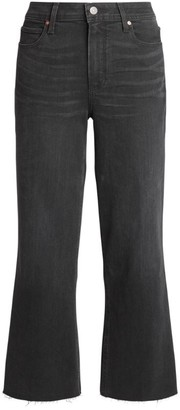 Paige Nellie Culotte Cropped Jeans
