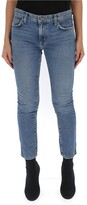 Thumbnail for your product : Current/Elliott Cropped Skinny Jeans