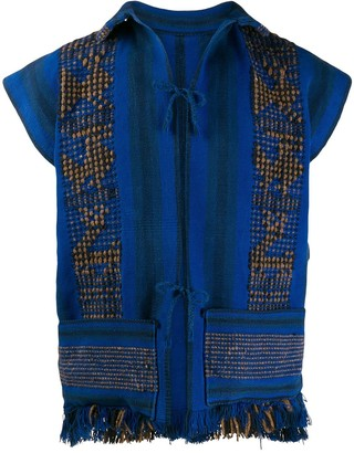 A.N.G.E.L.O. Vintage Cult 1970s Embroidered Vest