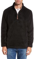 True Grit Men's Pebble Pile Quarter Zip Pullover