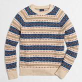 J.Crew Factory Fair Isle crewneck sweater
