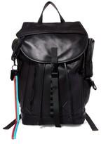 Steve Madden Men's Gq X Leather Backpack - Black
