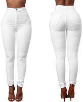 Winhurn Women New Fashion Denim Jeans Multi Colors Girl Casual Jeans Pants Plus Size (2XL, )