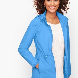 Talbots Packable Water Resistant Raincoat