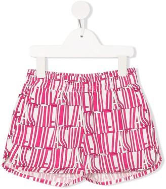 Stella Mccartney Kids Stella Type print shorts