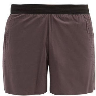 Soar - Elasticated Shell Running Shorts - Grey