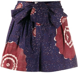 Ulla Johnson Martim pattern shorts