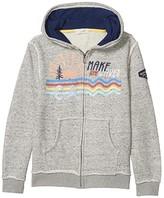 Peek PEEK Aiden Make Waves Hoodie Jacket (Toddler/Little Kids/Big Kids) (Grey Heather) Boy's Jacket