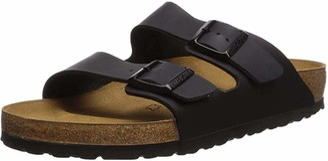 Birkenstock Arizona Black Oiled Leather Sandals Normal R 552111