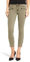 Paige Women's Jane Zip Crop Skinny Jeans