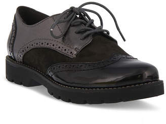 Spring Step Womens Stanley Oxford Shoes Round Toe