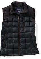Roundtree & Yorke Mixed Media Vest