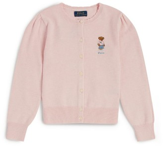 Ralph Lauren Kids Polo Bear Cardigan (2-4 Years)