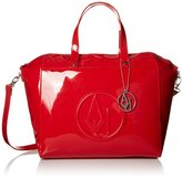 Armani Jeans RJ Large Zip Tote Top Handle Bag