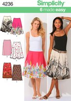Simplicity Sewing Pattern 4236 Misses' Skirts